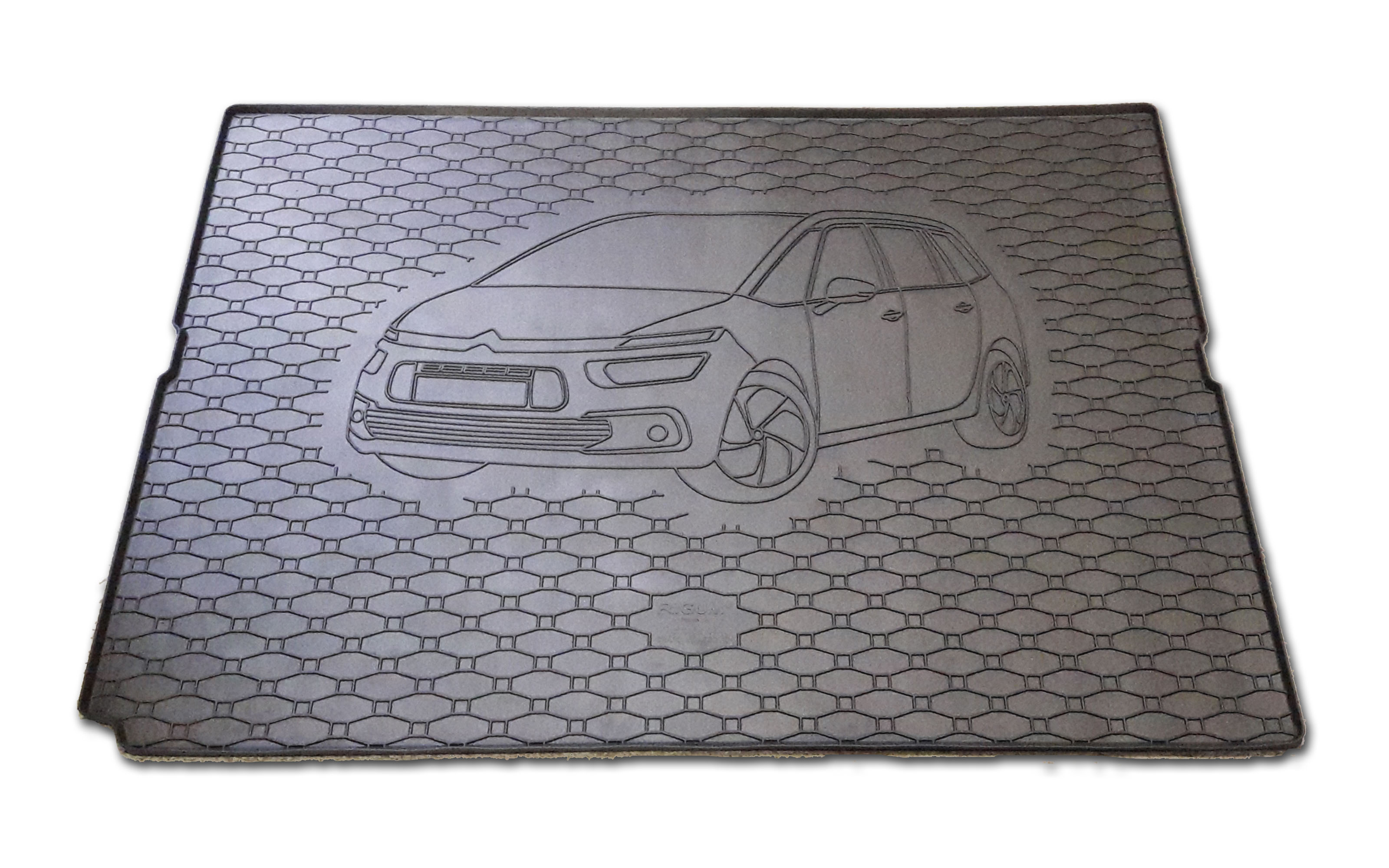 Vana do kufru gumová Citroen C4 Grand Picasso 2013-